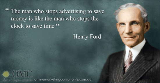 Ford Quote Adorable Henry Ford Quotes Archives  Online Marketing Consultants Online
